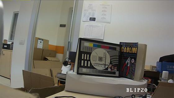 Telecamere Videosorveglianza - Resa dei colori BLIP20