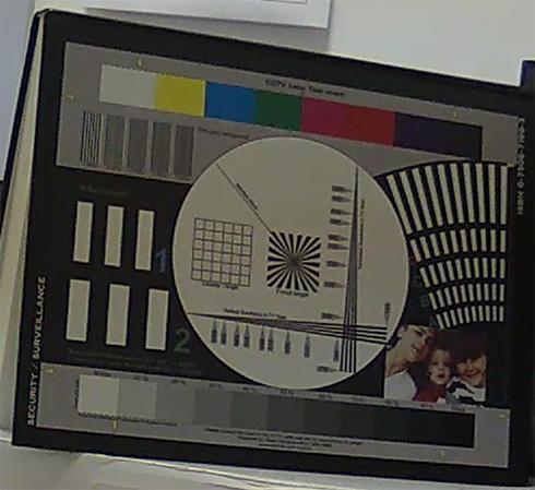 Telecamere Videosorveglianza - Resa dei colori BLIP20 particolare