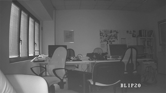 Telecamere Videosorveglianza - Ripresa notturna BLIP20
