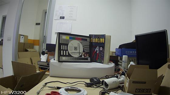 Telecamere Videosorveglianza - Resa dei colori HFW3200