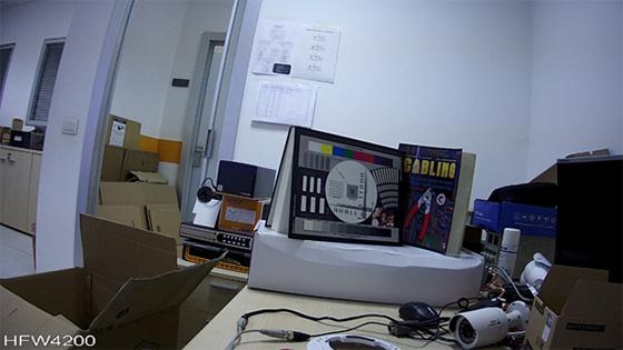 Telecamere Videosorveglianza - Resa dei colori HFW4200