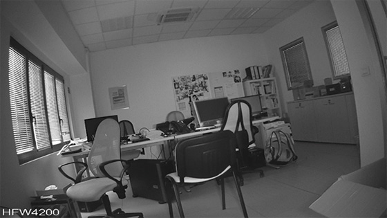 Telecamere Videosorveglianza - Ripresa notturna HFW4200