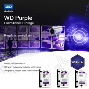 Nuovi Dischi Western Digital Purple PURX Audio Video