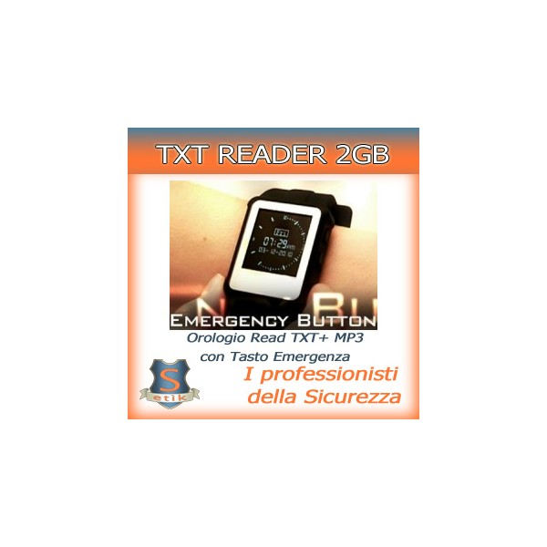 Orologio TXT/MP3 – 2GB – Tasto Emergency