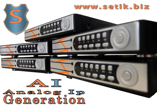 DVR e NVR ibridi Setik per videosorveglianza