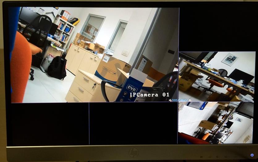 Telecamera IP Dahua per videosorveglianza ad alta risoluzione