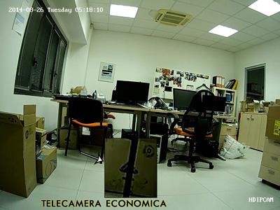 Telecamera Economica Videosorveglianza - definizione immagine e resa colori