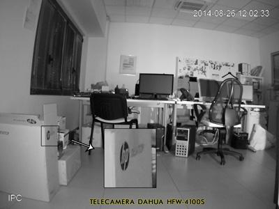 Telecamera Videosorveglianza Dahua - definizione immagine notturna