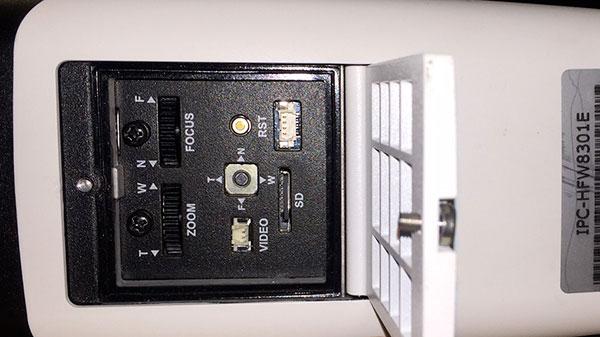 Cassetto Inferiore Telecamera IPC-HFW8301E