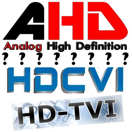 AHD HD-CVI HD-TVI