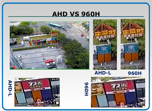 Differenza tra 960H su Analogico e AHD terza foto