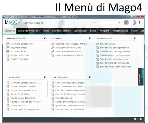 menu mago4