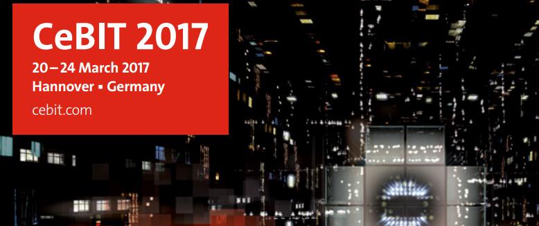 CeBit 2017: dal 20 al 24 marzo trasformazione digitale e nuove tecnologie