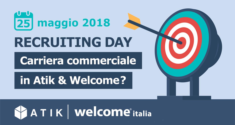 Atik e Welcome Italia ancora insieme per il loro 2° Recruiting Day