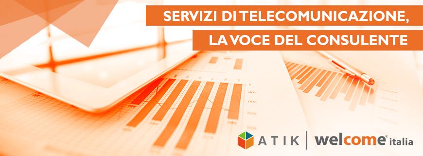 servizi di telecomunicazioni Atik