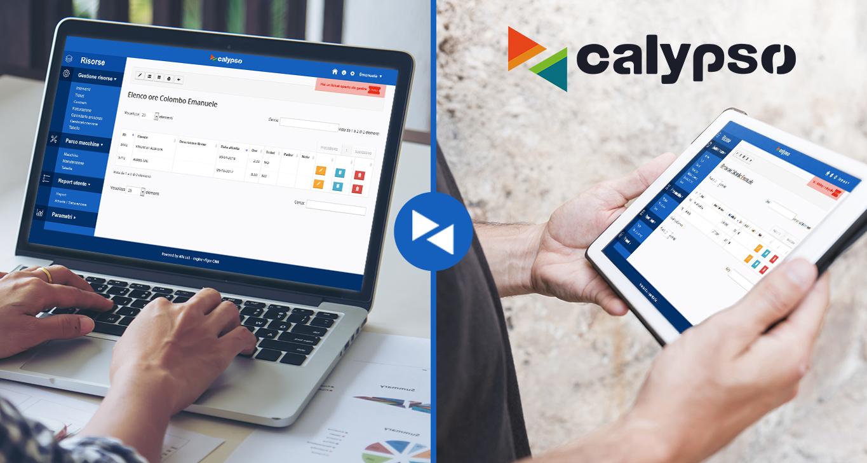 Calypso: gestione interventi tecnici