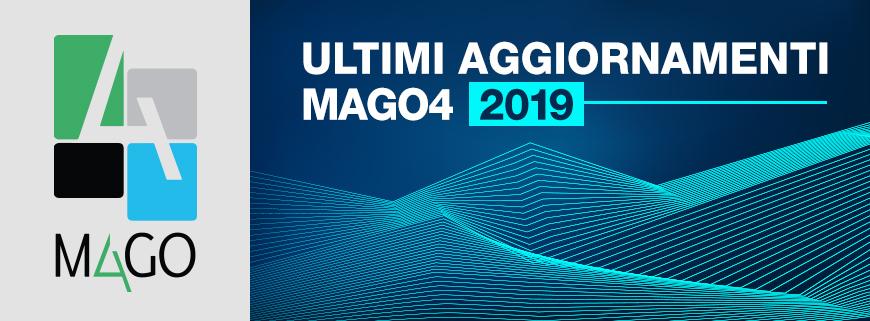 aggiornamenti Mago4 2019