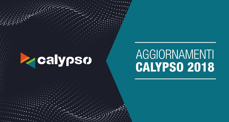 Software Calypso: tutti gli aggiornamenti 2018