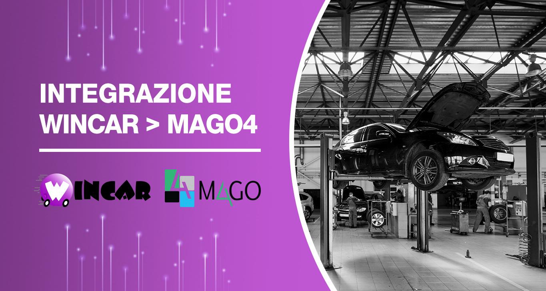 Mago4 e l'integrazione con Wincar software