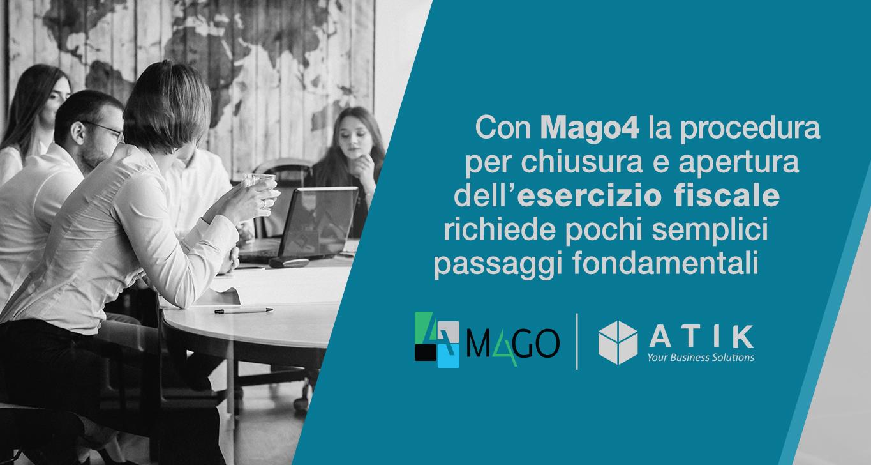 Esercizio fiscale con Mago4: come definire il nuovo anno