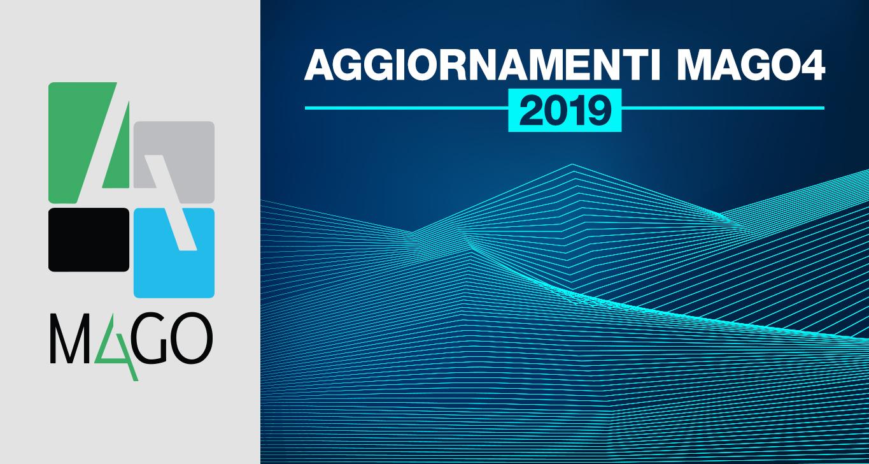 Aggiornamenti Mago4 2019 – Migliorie e debug
