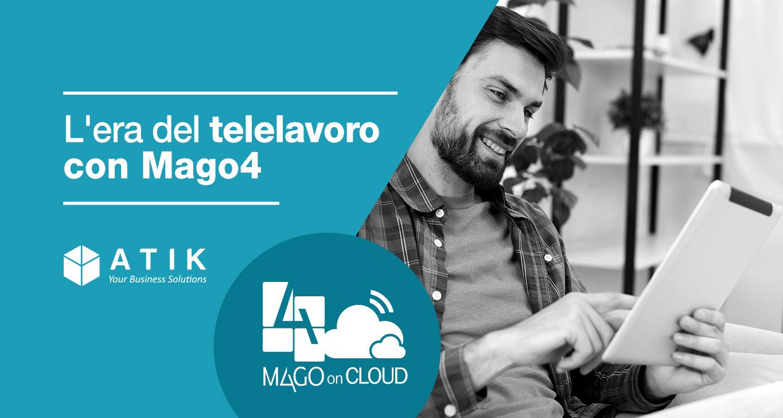 Aziende italiane messe alla prova: l'era del telelavoro con Mago4