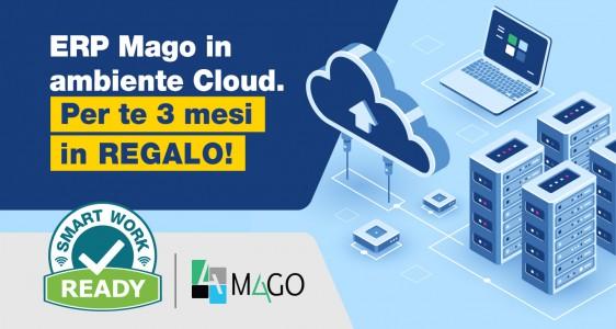 ERP Mago4: 3 mesi in Cloud Gratuiti