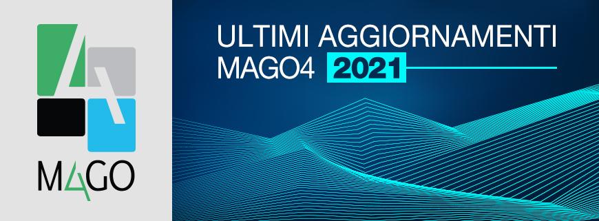 Mago4 aggiornamenti 2021